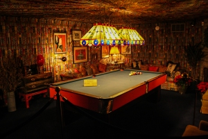 elvis pool room